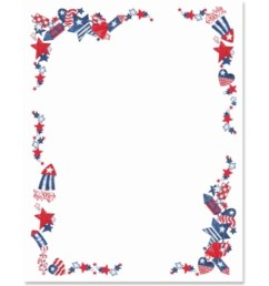 fourth of july 4th of july free clip art borders [ 1024 x 1024 Pixel ]
