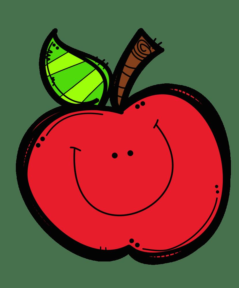 hight resolution of teacher apple clipart 3