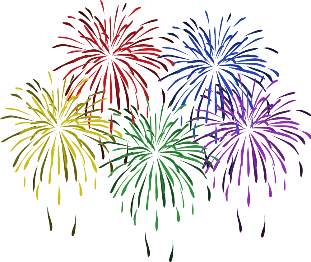 medium resolution of free clip art of new year fireworks clipart 8 happy