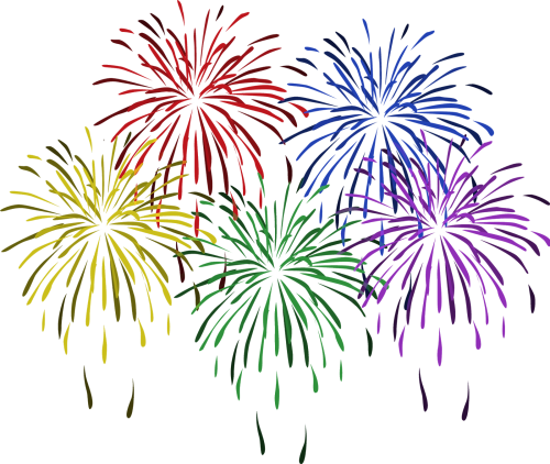 small resolution of free clip art of new year fireworks clipart 8 happy