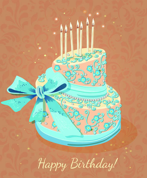Happy Birthday Cake Clip Art Free Balloons Vector Download