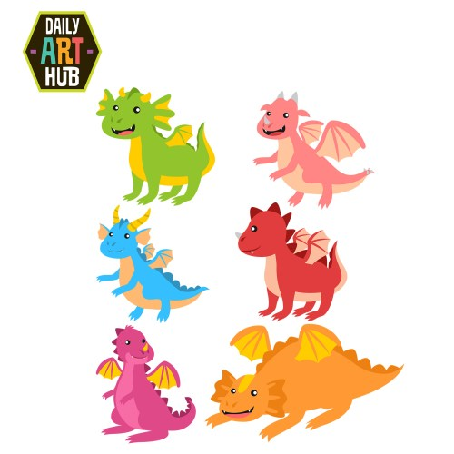 small resolution of cute dragon clipart many interesting cliparts