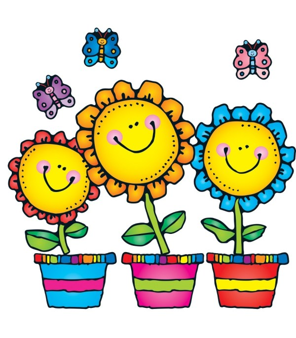 flowers blooming clipart