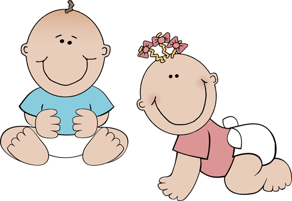 twins clipart baby shower pencil