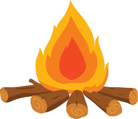campfire clipart bonfire night