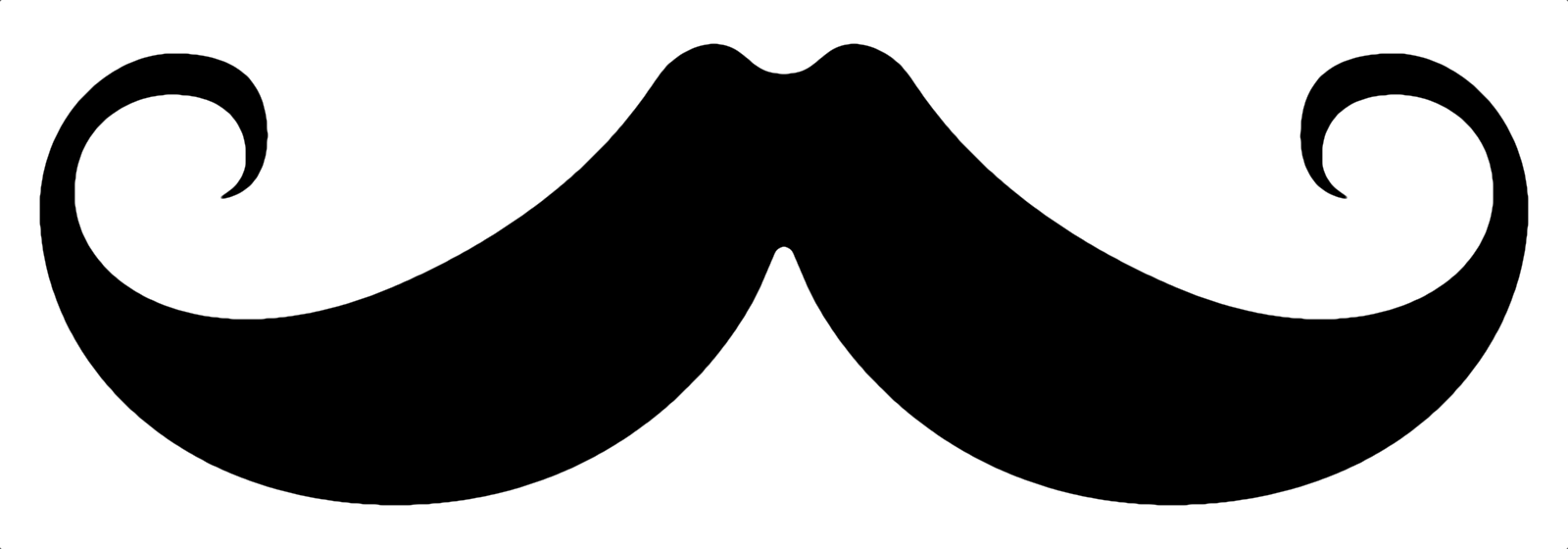 hight resolution of brown hair clipart mexican mustache pencil and in color brown