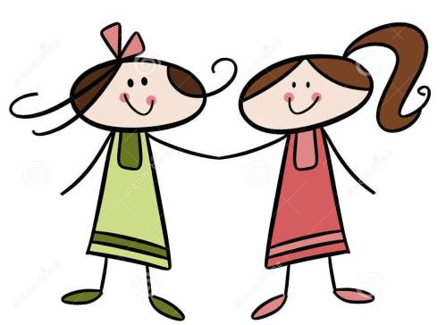 small resolution of friends girls cliparts free download clip art