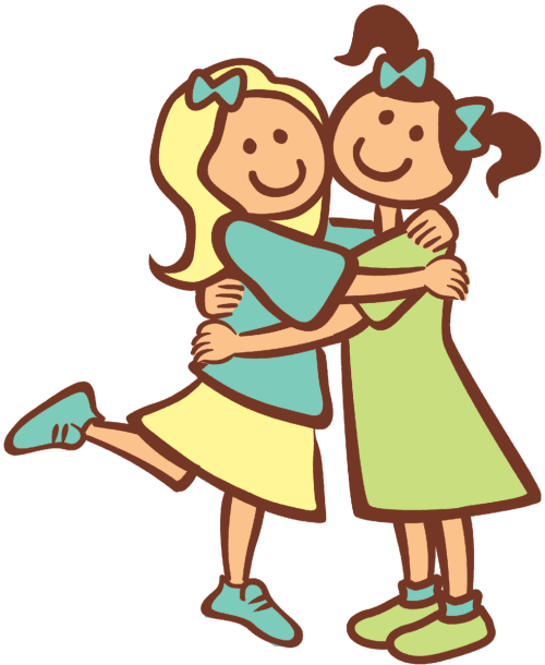 small resolution of funny cliparts friends free download clip art