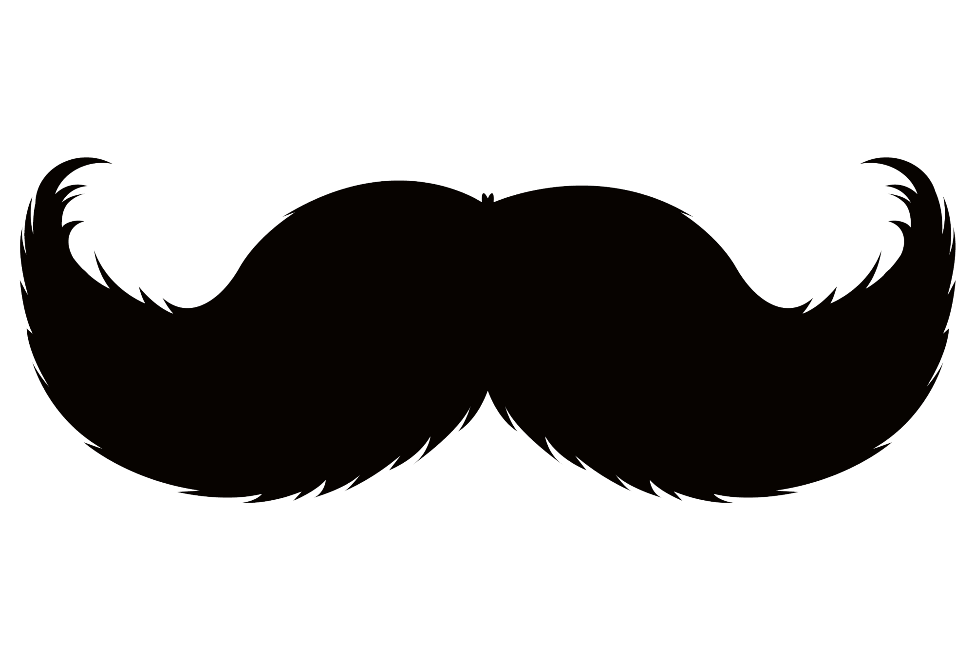 hight resolution of mustache cool clipart moustache pencil and in color cool