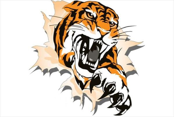 tiger clipart cliparts design trends
