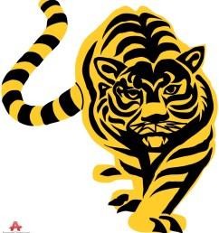 tiger stencil clipart sticker design free download [ 915 x 999 Pixel ]