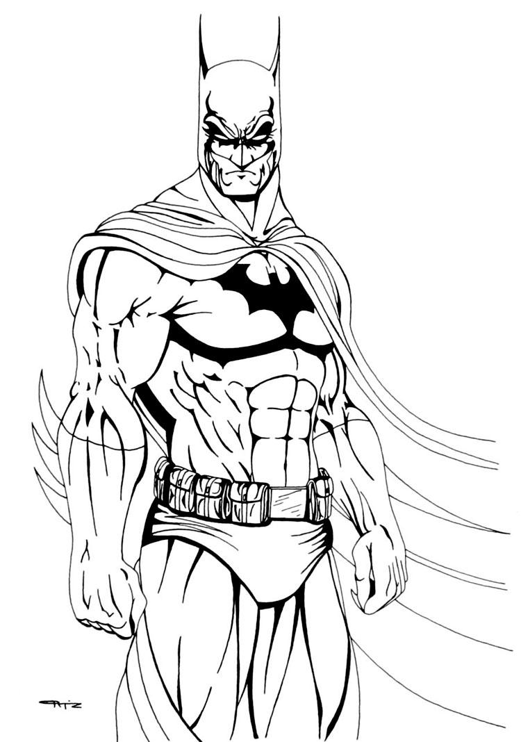 Inspirational design batman outline printable coloring