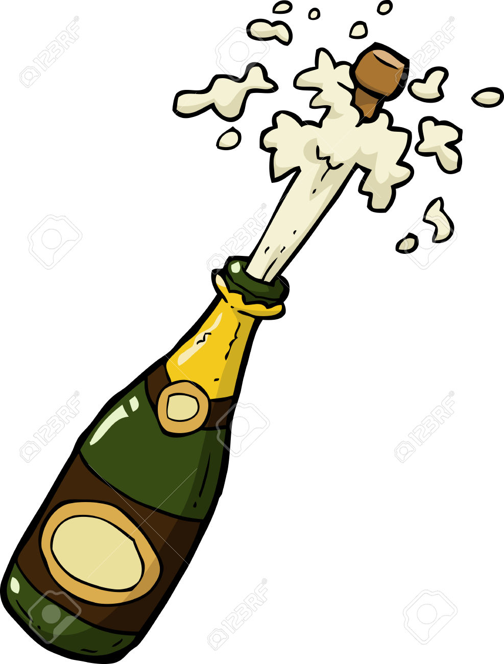 hight resolution of champagne bottle clipart free download jpg