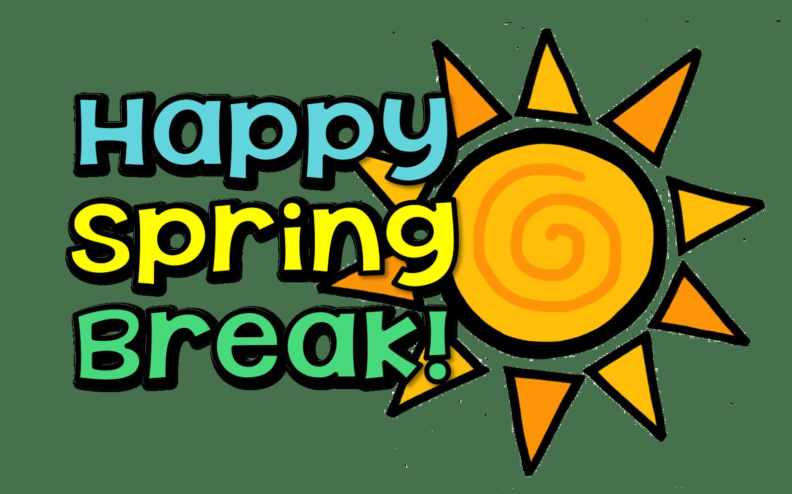 hight resolution of no school happy spring break waverly elementary school png