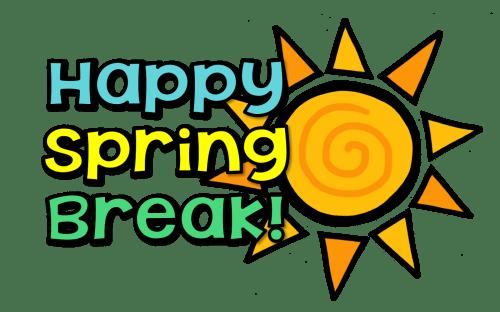 small resolution of no school happy spring break waverly elementary school png