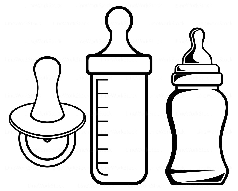 Baby Bottle Clipart Clip Art