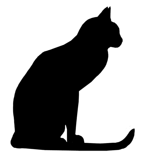 small resolution of black cat free halloween cat vector transparent rr collections jpg