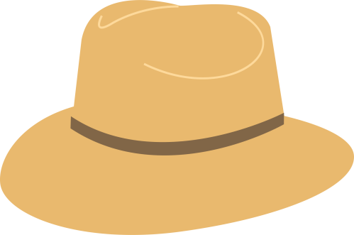small resolution of cowboy hat sun hat graphic black and white stock transparent rr collections png