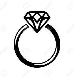 wedding diamond ring clipart great free clipart silhouette jpeg [ 1300 x 1300 Pixel ]
