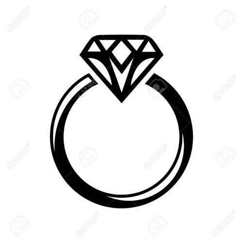 small resolution of wedding diamond ring clipart great free clipart silhouette jpeg