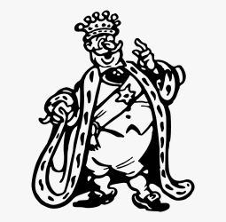Line Art line art King Black And White Png Cartoon Free Transparent Clipart ClipartKey