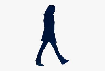 Transparent Woman Walking Clipart Woman Walking Png Silhouette Free Transparent Clipart ClipartKey