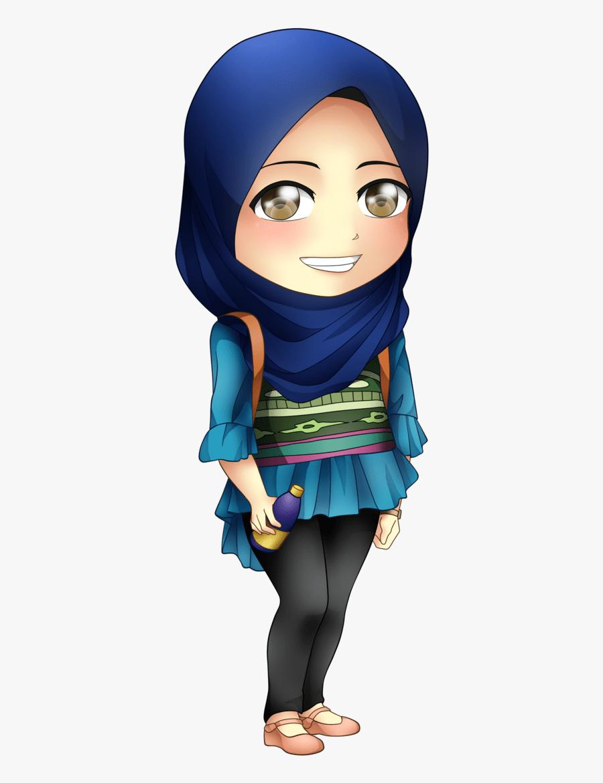 Hijab Girl Png : hijab, Hijab, #hijabfashion, #fashion, #islam, #girl, Chibi, Transparent, Clipart, ClipartKey