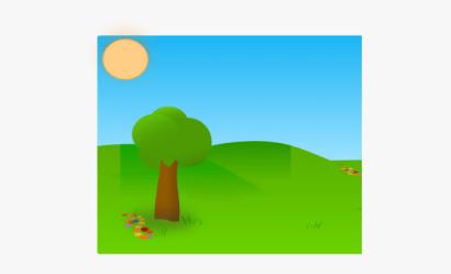 Cartoon Garden Background Free Transparent Clipart ClipartKey