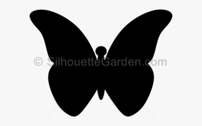 Silhouettes Clipart Flying Butterfly Clip Art Black Butterfly Free Transparent Clipart ClipartKey