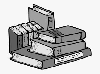 Cartoon Transparent Background Books Png Free Transparent Clipart ClipartKey