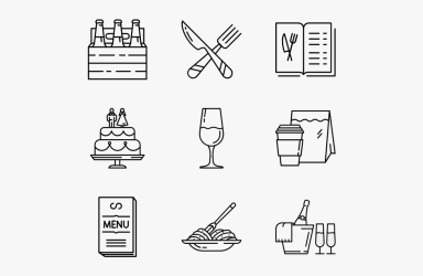 Drink Vector Food Food Drinks Icon Transparent Free Transparent Clipart ClipartKey