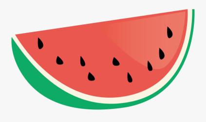 Watermelon Clip Art Cute Watermelon Slice Drawing Free Transparent Clipart ClipartKey