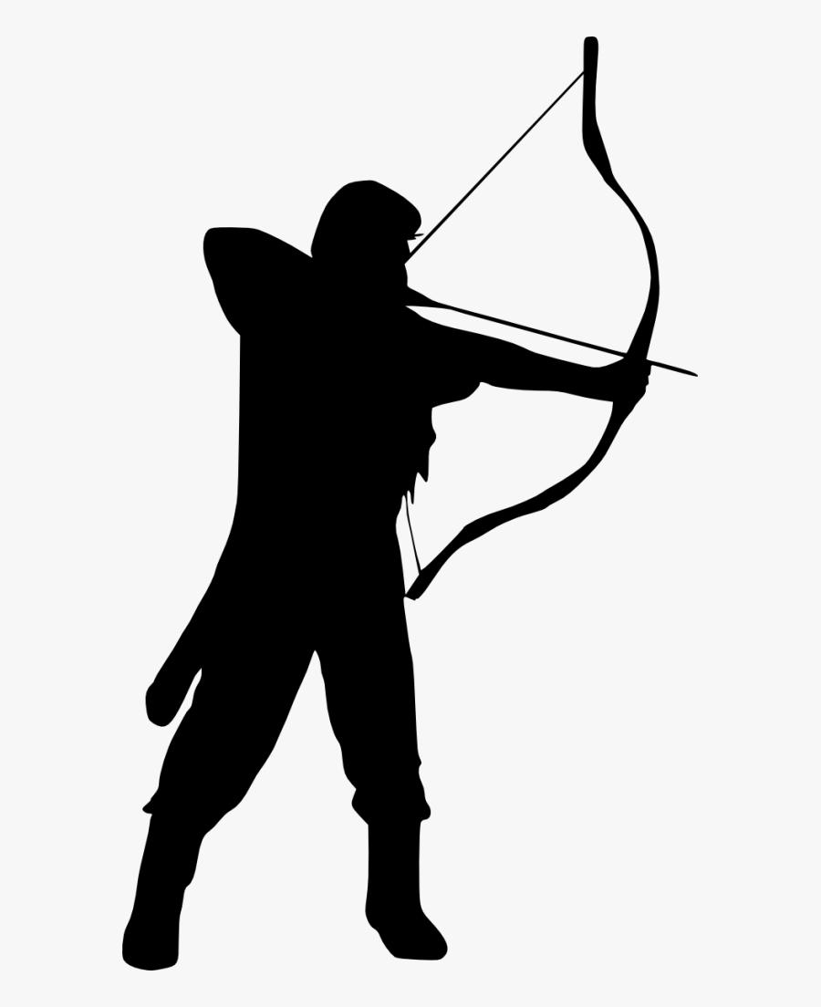 Transparent Bow And Arrow : transparent, arrow, Transparent, Archery, Clipart, Archer, ClipartKey
