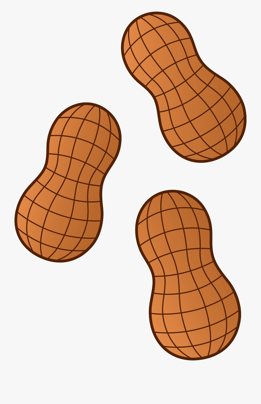 Peanut Clipart Free : peanut, clipart, Peanut, Clipart, Transparent, ClipartKey