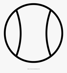 Tennis Ball Coloring Page Tennis Ball Clipart Black And White Free Transparent Clipart ClipartKey