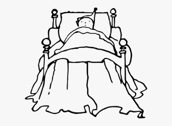 Free Vector Graphic Bed Bedtime Child Infant Kid Boy In Bed Cartoon Black And White Free Transparent Clipart ClipartKey