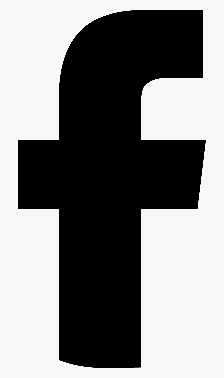 Icon Fb Png : Facebook, Black, Vector, Blanco, Transparent, Clipart, ClipartKey