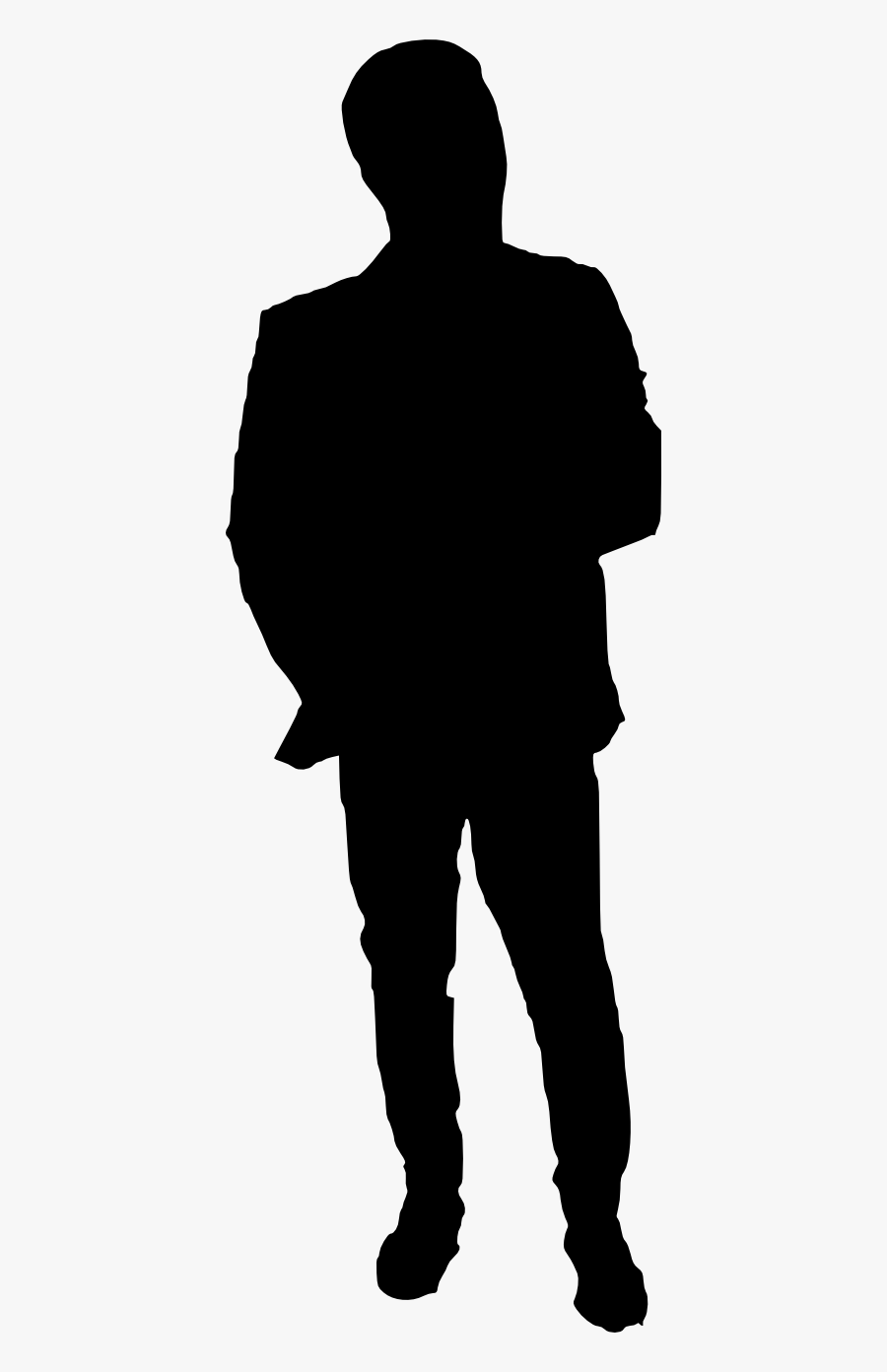 Silhouette Transparent Background : silhouette, transparent, background, Silhouette, Transparent, Background, Human, Clipart, ClipartKey