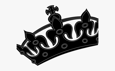 crown king tilted clipart clipartkey