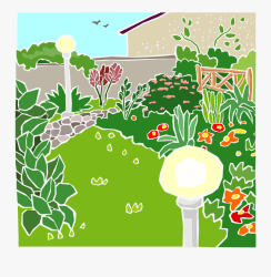 Gardenparty Garden Of A House Clipart Free Transparent Clipart ClipartKey