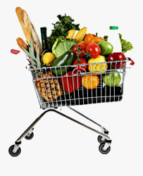 Grocery Shopping Grocery Cart Food Shopping Cart Full Png Free Transparent Clipart ClipartKey
