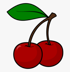 Cherry Clipart Cherry Outline Cherries Clipart Free Transparent Clipart ClipartKey