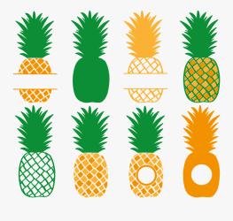 Transparent Pineapple Silhouette Png Cricut Pineapple Svg Free Free Transparent Clipart ClipartKey