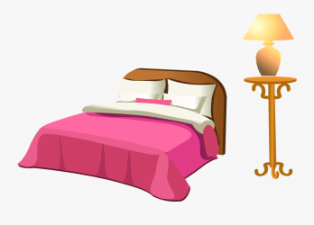 Bedroom Clipart Fancy Clip Art Bed Free Transparent Clipart ClipartKey