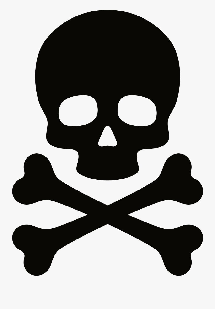 Skull And Crossbones Clip Art Free : skull, crossbones, Skull, Crossbones, Transparent, Clipart, ClipartKey
