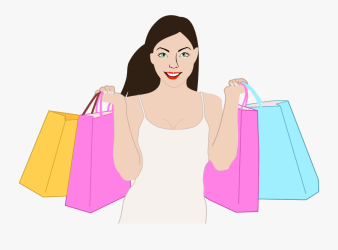 Happy Shopping Woman Icons Png Happy Shopping Logo Png Free Transparent Clipart ClipartKey