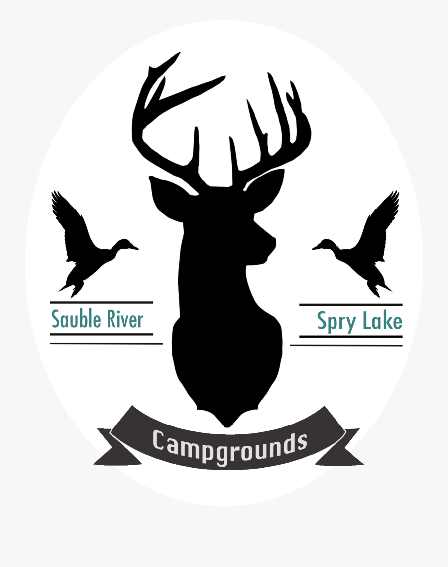 Moose Antler Silhouette : moose, antler, silhouette, Antler, Silhouette, Moose, Black, White, Transparent, Clipart, ClipartKey