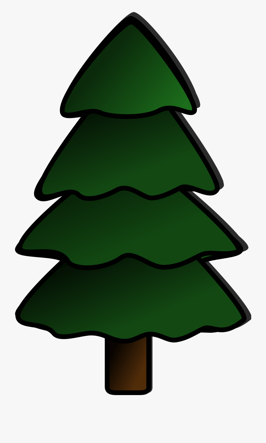 Pine Tree Clip Art Free : Clipart, Images, Transparent, ClipartKey