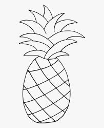 Transparent Pineapple Png Transparent Clip Art Black And White Pineapple Free Transparent Clipart ClipartKey