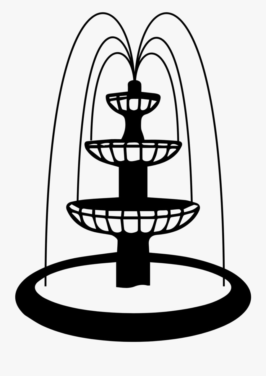 Water Fountain Drawing : water, fountain, drawing, Forsythfountain, Water, Fountain, Drawing, Transparent, Clipart, ClipartKey